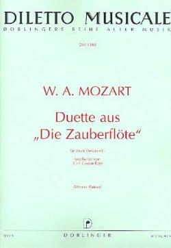 Duette aus Die Zauberflöte MOZART Partition Violoncelle - laflutedepan