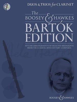 Duos et Trios pour Clarinettes BARTOK Partition laflutedepan