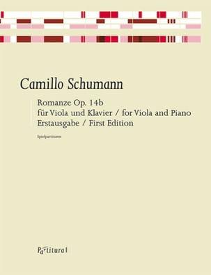 Romance, op. 14b - Alto et Piano Camillo Schumann laflutedepan