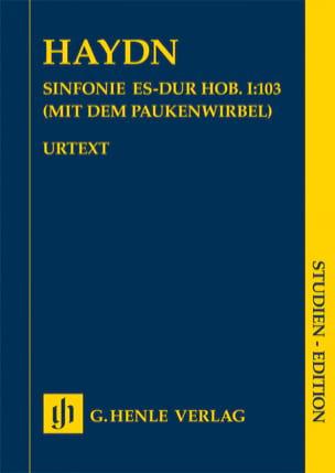 Symphonie n° 103 Joseph Haydn Partition Petit format - laflutedepan
