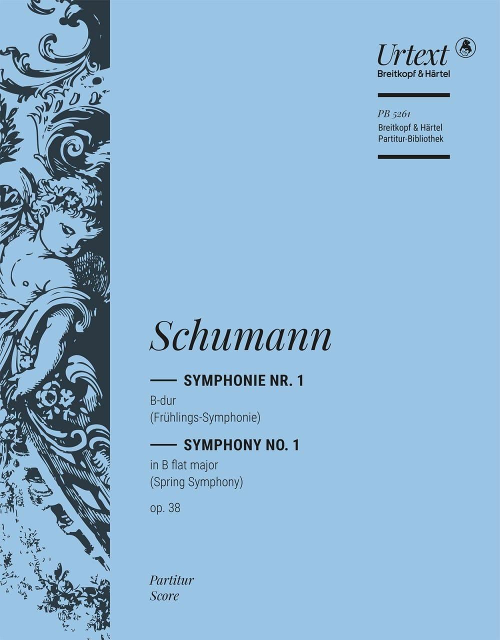 Symphonie Nr. 1 B-Dur op. 38 - Partitur - SCHUMANN - laflutedepan.com