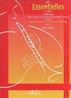 Les essentielles de Cyrille Rose - Yves Didier - laflutedepan.com