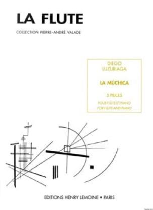 La Muchica - Diego Luzuriaga - Partition - laflutedepan.com