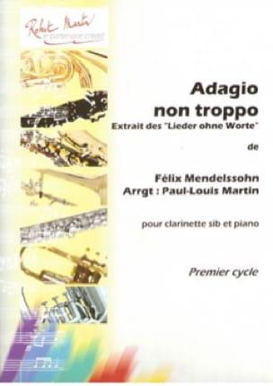 Adagio non Troppo - MENDELSSOHN - Partition - laflutedepan.com