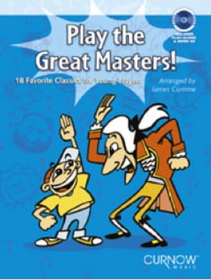 Play The Great Masters ! Clarinette - James Curnow - laflutedepan.com