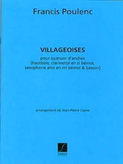 Villageoises - Quatuor d'anches - Conducteur + parties laflutedepan