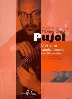 Dos aires candomberos Maximo Diego Pujol Partition Duos - laflutedepan