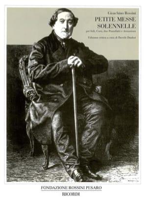 Petite Messe Solennelle - Conducteur - ROSSINI - laflutedepan.com