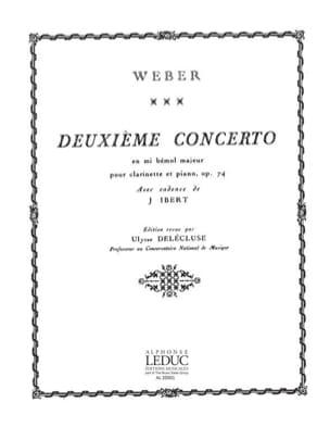 Concerto Clarinette n° 2 mib majeur op. 74 laflutedepan