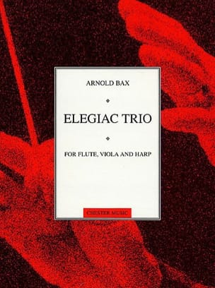 Elegiac Trio - Flute viola harp Score + Parts Arnold Bax laflutedepan