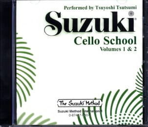Cello School Volume 1-2 - CD SUZUKI Partition laflutedepan