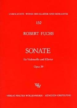 Sonate op. 29 - Robert Fuchs - Partition - laflutedepan.com