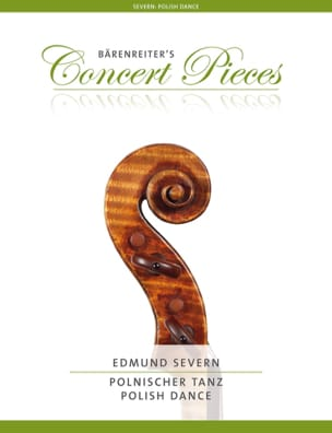 Danse Polonaise - Violon et Piano Edmund Severn Partition laflutedepan
