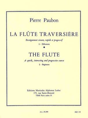 La Flûte Traversière Volume 1 Pierre Paubon Partition laflutedepan