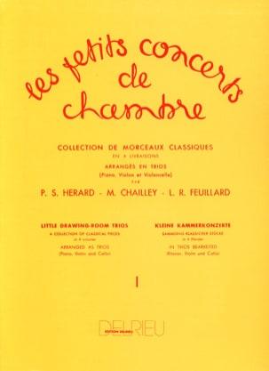 Les Petits Concerts de Chambre Volume 1 - Trio FEUILLARD laflutedepan