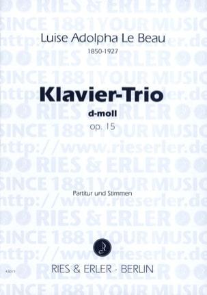 Trio Avec Piano Op.15 En Ré Min. - laflutedepan.com