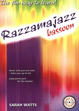 Razzamajazz For Bassoon Sarah Watts Partition Basson - laflutedepan