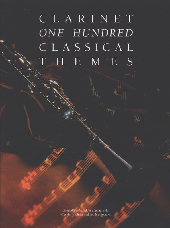 100 Classical Themes for Clarinet - Partition - laflutedepan.com