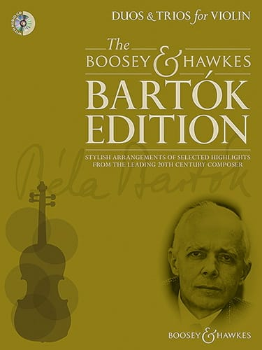 Duos et Trios pour violons - BARTOK - Partition - laflutedepan.com