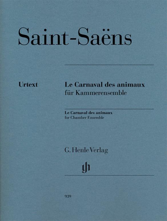 Le Carnaval des Animaux - Parties - SAINT-SAËNS - laflutedepan.com