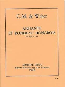 Andante et Rondo hongrois op. 35 Carl Maria von Weber laflutedepan