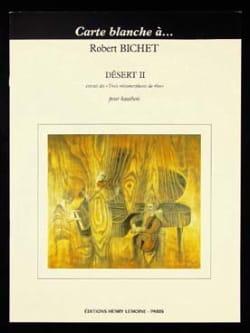 Désert 2 - Hautbois Solo Robert Bichet Partition laflutedepan