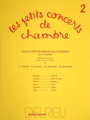 Les Petits Concerts de Chambre Vol.2 - Trio FEUILLARD laflutedepan