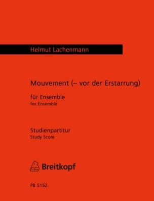 Mouvement Vor der Erstarrung Helmut Lachenmann Partition laflutedepan