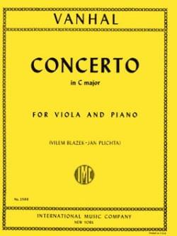 Concerto in C Major - Viola Johann Baptist Vanhal laflutedepan