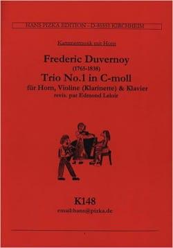 Trio N° 1 in C-moll -Horn Violine Klavier laflutedepan