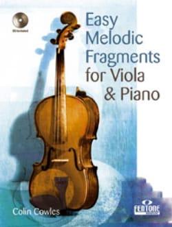 Easy Melodic Fragments - Viola - Colin Cowles - laflutedepan.com