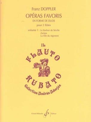 Opéras Favoris en Forme de Duos Volume 1 Franz Doppler laflutedepan