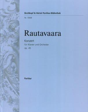 Concerto pour piano et Orch., op. 45 - Conducteur laflutedepan