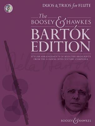 Duos et Trios - Flûtes BARTOK Partition laflutedepan