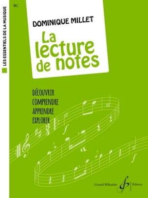 La Lecture de Notes Dominique Millet Partition Solfèges - laflutedepan