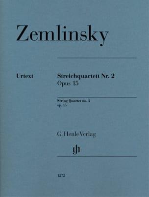 Quatuor à Cordes n° 2, op. 15 - Parties laflutedepan