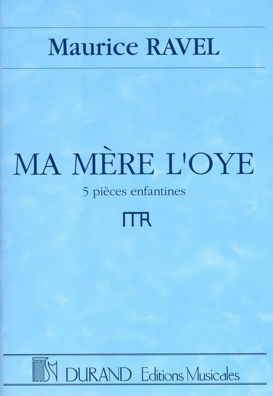 Ma Mère L'Oye - RAVEL - Partition - Grand format - laflutedepan.com