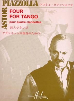 Four for Tango - 4 Clarinettes - Astor Piazzolla - laflutedepan.com