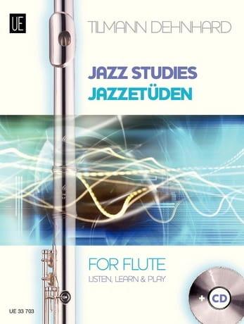 Jazz Studies For Flute - Tilmann Dehnhard - laflutedepan.com