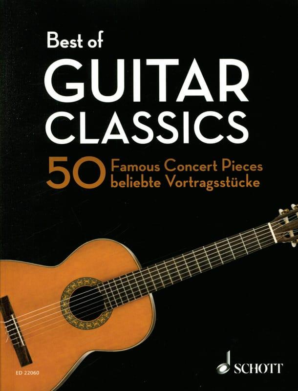 Best of Guitar Classics - Guitare - Partition - laflutedepan.com