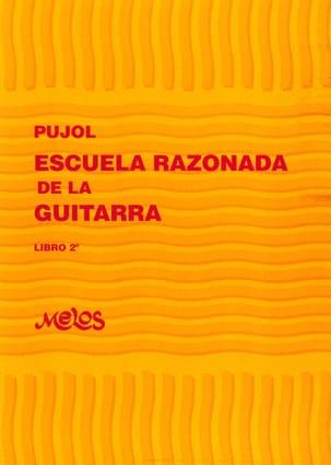 Ecole raisonnée de la guitare -Livre 2 Emilio Pujol laflutedepan