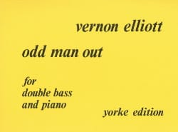 Odd man out - Double bass Vernon Elliott Partition laflutedepan