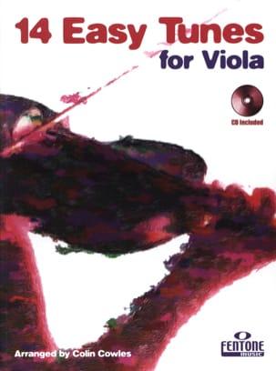 14 Easy tunes for Viola Colin Cowles Partition Alto - laflutedepan