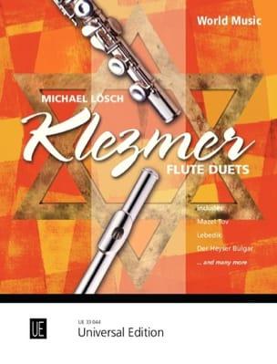 Klezmer Flute Duets Partition Flûte traversière - laflutedepan
