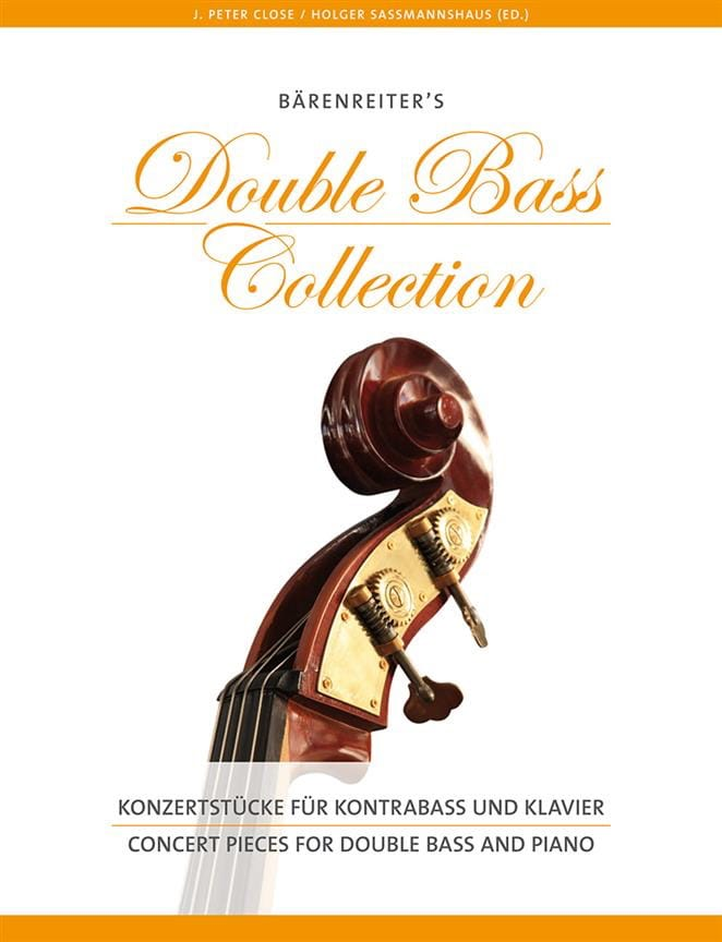 Concert Pieces for Double Bass and Piano - laflutedepan.com