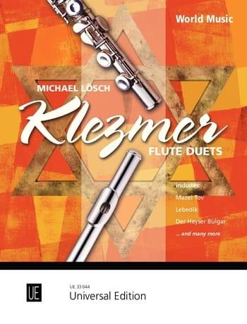 Klezmer Flute Duets - Partition - laflutedepan.com