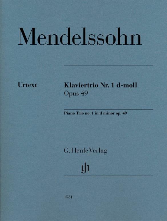 Trio n° 1 en ré mineur, opus 49 - laflutedepan.com