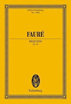 Gabriel Fauré - Requiem - Partition - di-arezzo.co.uk