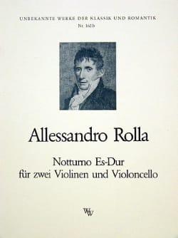 Notturno Es-Dur -2 Violinen Violoncello - Stimmen laflutedepan