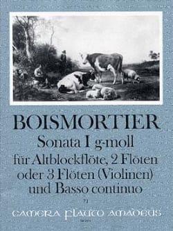 Sonata Nr. 1 op 34 g-moll -Altblockflöte 2 Flöten u. BC laflutedepan